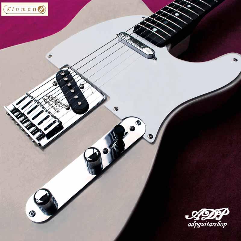 adpguitarshop guitare DP048 T style Kinman ADP Bridge Chris Guimbard